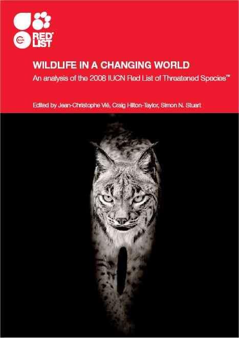 Le rapport 2009, Wildlife in a Changing World (La vie sauvage dans un monde en mutation). Voir les liens au bas de cet article. © UICN