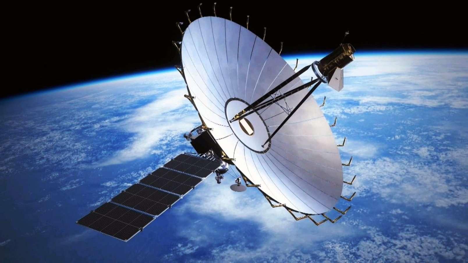 La Russie a perdu le contrôle de son radiotélescope spatial Spektr-R, ou RadioAstron. © Lebedev Institute