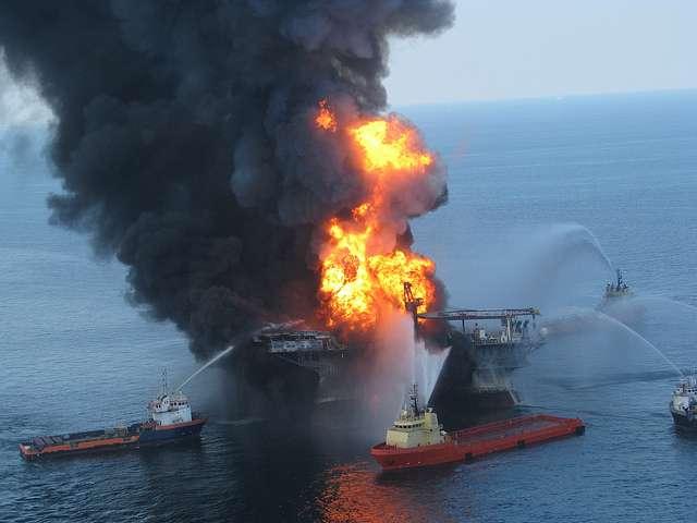 La découverte de pétrole au large de la Guyane inquiète les associations écologiques. Le souvenir de Deepwater au large de la Louisiane est toujours présent. © ideum, Flickr, cc by sa 2.0