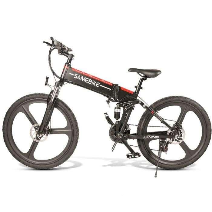 French Days : le vélo électrique Ebike pliant-Samebike LO26 E-Scooter © Cdiscount