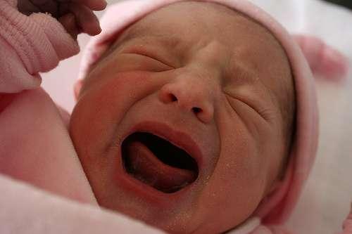 L'accouchement est régulé par un mécanisme complexe, mêlant hormones, protéines et microARN. © MOLEC, Flickr, CC by-nc-nd
