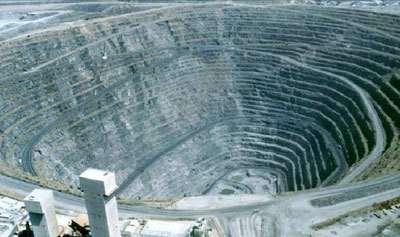 Mine de cuive de Palabora (Afrique du Sud)