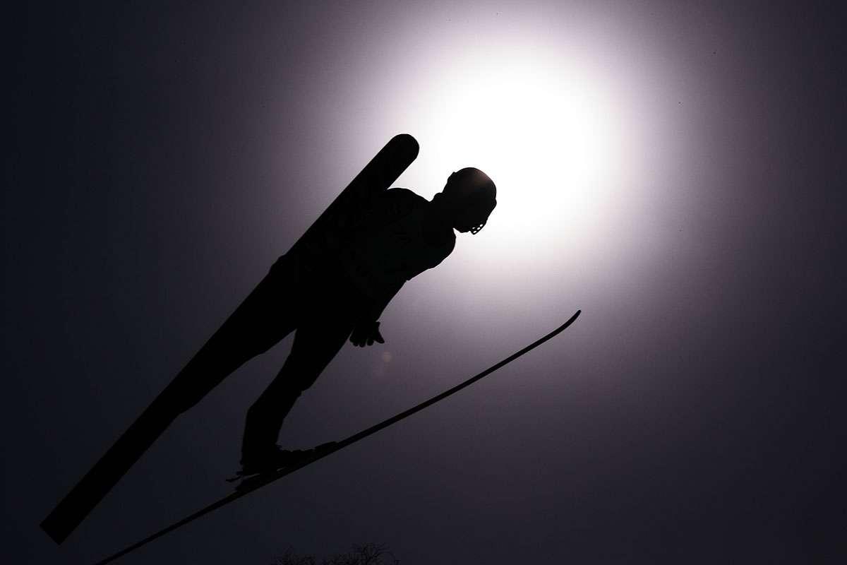 Le saut à ski est une vieille discipline née en Norvège, où les premières compétitions ont eu lieu en 1862. © Tpower1978, Flickr, cc by 2.0