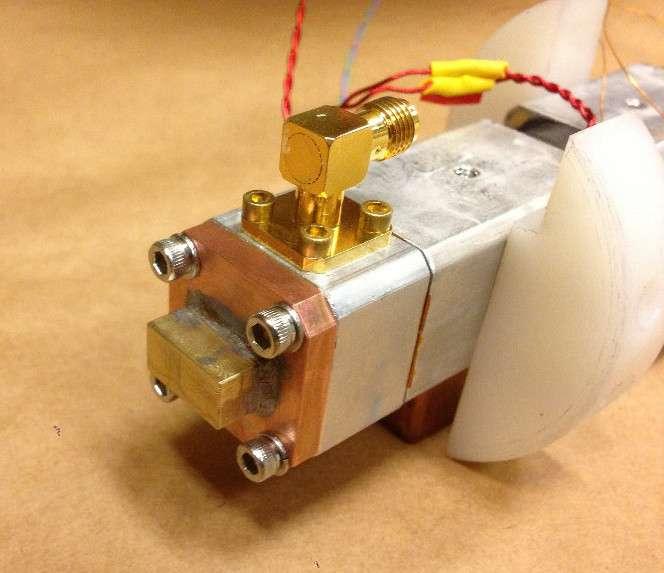 Lors de l'expérience Project 8, les chercheurs ont réussi à mesurer le spectre du rayonnement cyclotron d'un seul électron en utilisant un isotope du krypton sous forme de gaz. © project8.org
