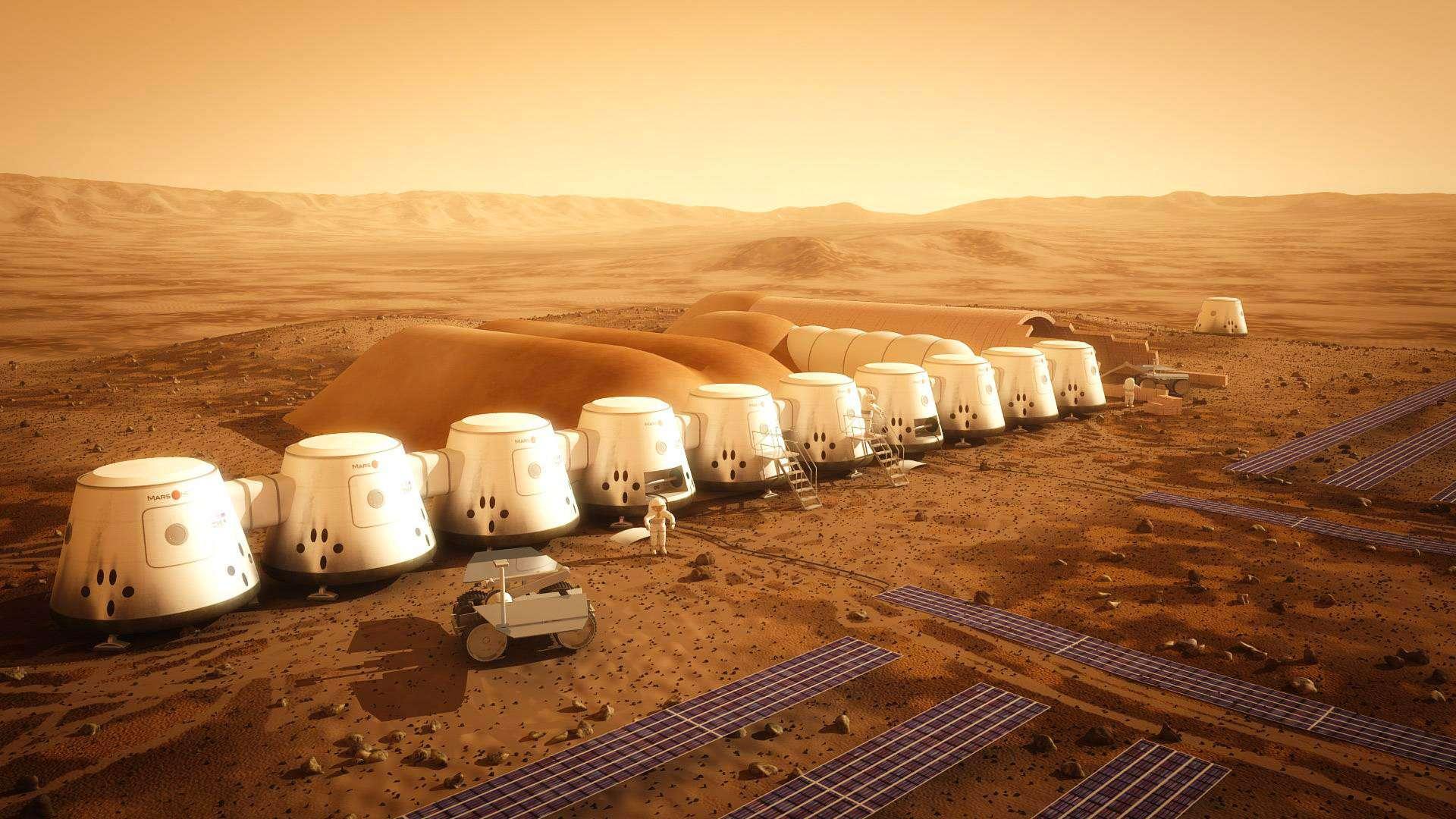 Mars One, un projet de colonisation martienne sans espoir de retour, était porté par deux entités, dont l'une est en faillite depuis janvier 2019. © Mars One