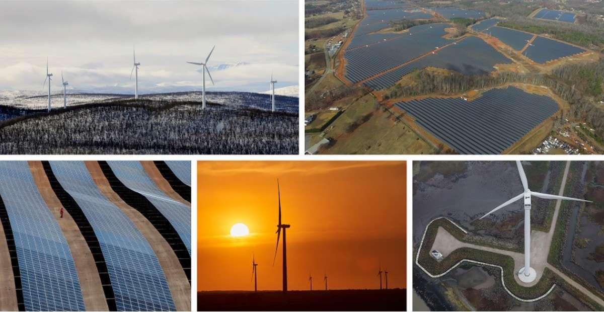 Google s'approvisionne en énergies renouvelables notamment en Suède, aux Pays-Bas, en Caroline du Nord(États-Unis), en Oklahoma (États-Unis) et au Chili. © Google