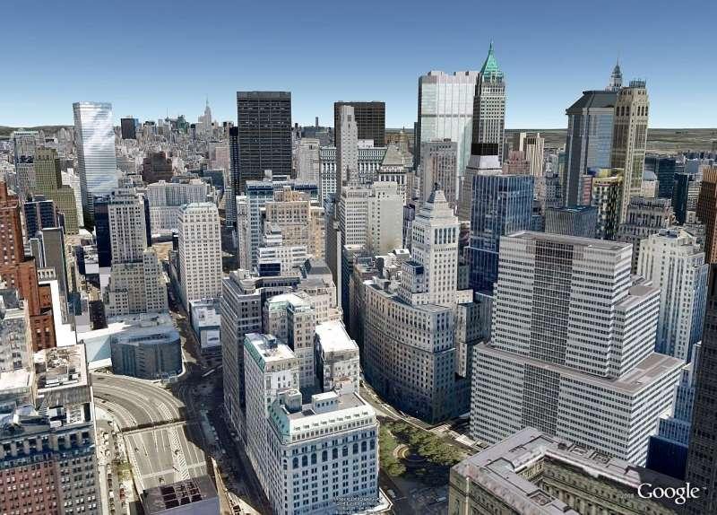 Une jolie promenade aérienne en perspective... (Capture d'écran dans Google Earth.)