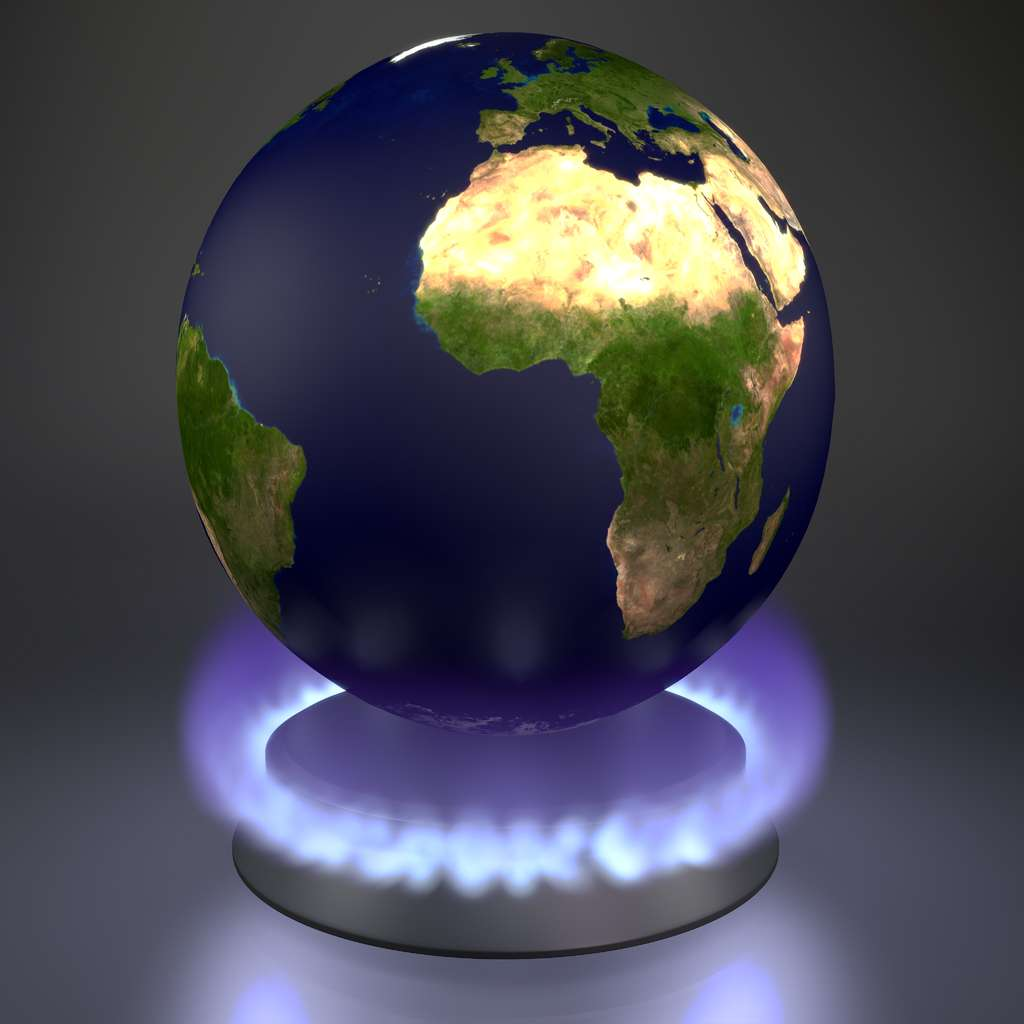 L'effet de serre est dû aux phénomènes se produisant au sein de notre atmosphère. © DR