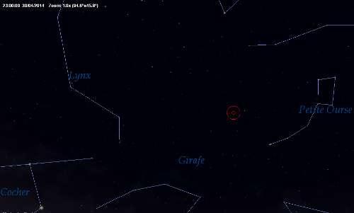 Possible pluie d'étoiles filantes issue de la comète 209P/Linear