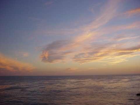 Océan et atmosphère sont deux machines thermiques dont les rouages sont mécaniquement reliés mais ne tournent pas à la même vitesse. Les secrets de ce fonctionnement sont loin d'être bien compris. © Martapiqs / Flickr - Licence Creative Common (by-nc-sa 2.0)