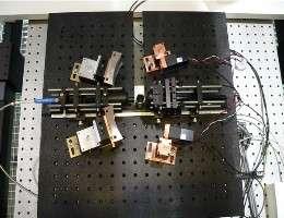 Les spectromètres du LACIS(Crédits : Accent)