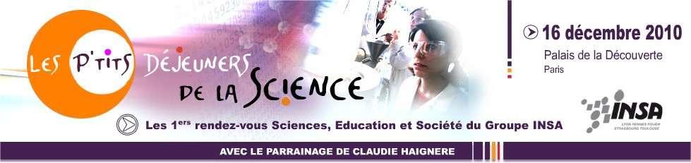 Les P'tits déjeuners de la science, un rendez-vous axé ce jeudi 16 décembre sur l'intelligence émotionnelle. © DR
