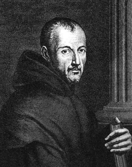 Marin Mersenne, religieux et scientifique français (1588 - 1648). Un nombre de Mersenne est de la forme 2p - 1, p étant premier. Il peut être premier ou non. © Licence Commons