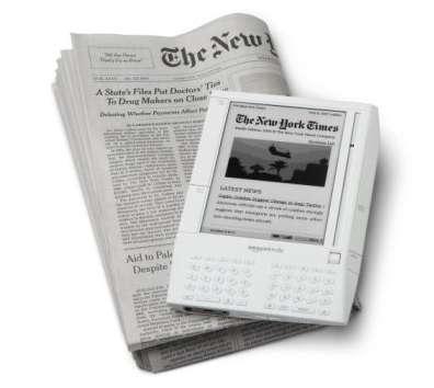Le Kindle, d'Amazon, peut servir à lire le journal… © Amazon