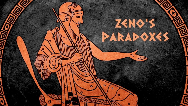 Zénon d'Élée, né vers 490 et mort vers 430 av. J.-C., est un philosophe grec présocratique célèbre pour les paradoxes logiques et mathématiques apparents qui découlent de la divisibilité des nombres avec l'espace et le temps. Ces paradoxes ont tous été résolus avec l'essor des mathématiques et de la physique du XVIIe siècle. © Buzzco Associates, inc; TED Ed, YouTube