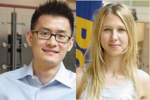 Chen-Bo Zhong et Nina Mazar. © University of Toronto, 2009