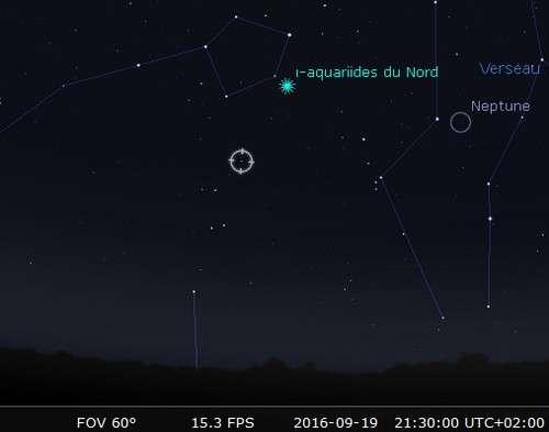 Maximum de l'essaim des météores des Piscides. © Futura-Sciences