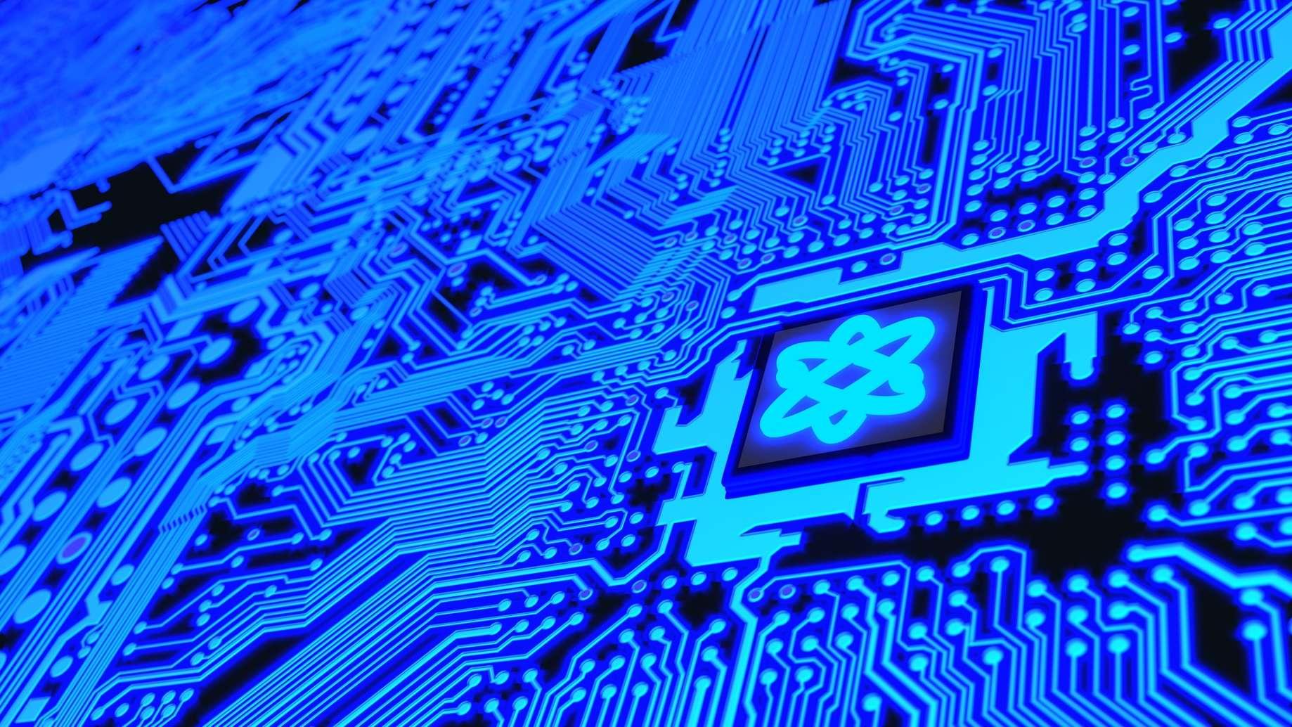 Intelligence artificielle : un vrai gouffre énergétique. © beebright