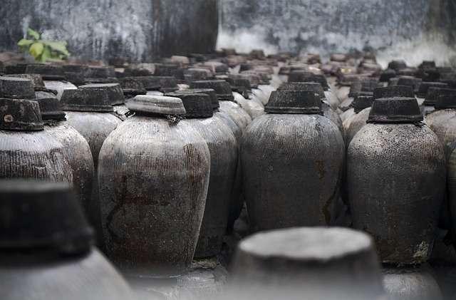 Des archéologues chinois ont découvert des restes de liquide qui pourrait être du vin dans un récipient vieux de 2.000 ans. © DP