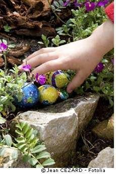 Les œufs en chocolat ne sont pas mauvais. Il faut juste éviter d'en abuser, comme de tout le reste... © Jean Cézard/Fotolia