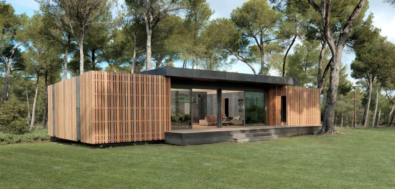 Les maisons pop-up ont été testées et approuvées dans la région provençale. © Multipod Studio