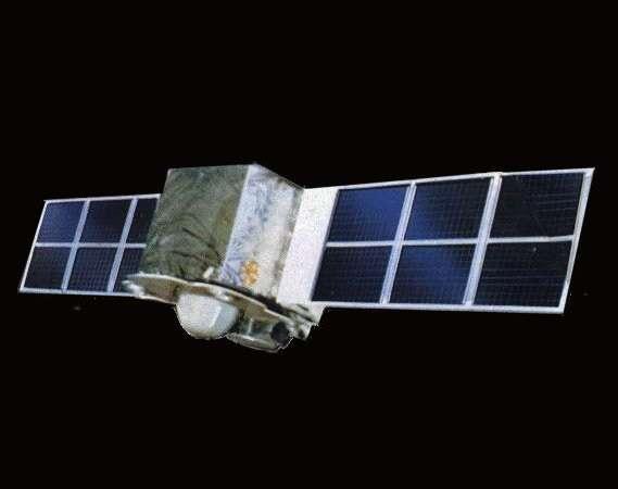 Le satellite Fengyun 1-C, aujourd'hui éparpillé en centaines de débris... Crédit Agence spatiale chinoise.