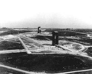 Le complexe de lancement 36 à Cap Kennedy en 1964 (36A et 36B)