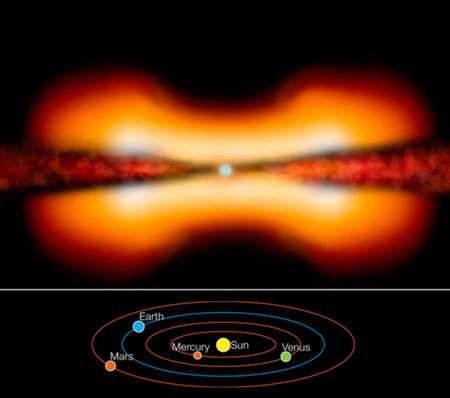 Le disque proto-planétaire de MWC 297