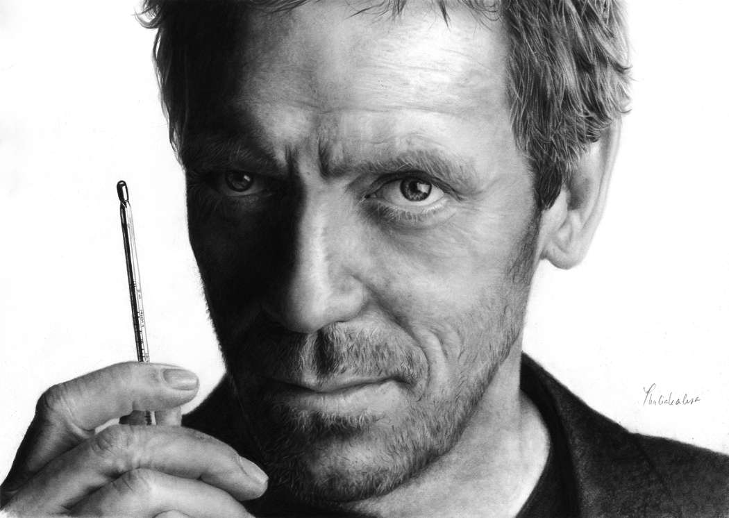 Dr House, dont le personnage central était joué par Hugh Laurie, était une série diffusée entre 2004 et 2012. Ce médecin diagnosticien se distingue par sa perspicacité, mais surtout son cynisme terrible, auquel il n'hésite pas à recourir dans des situations dramatiques. © Thubakabra, www.deviantart.com, cc by nc nd 3.0