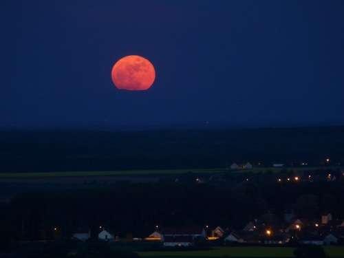 Plus grosse Pleine Lune de l'année