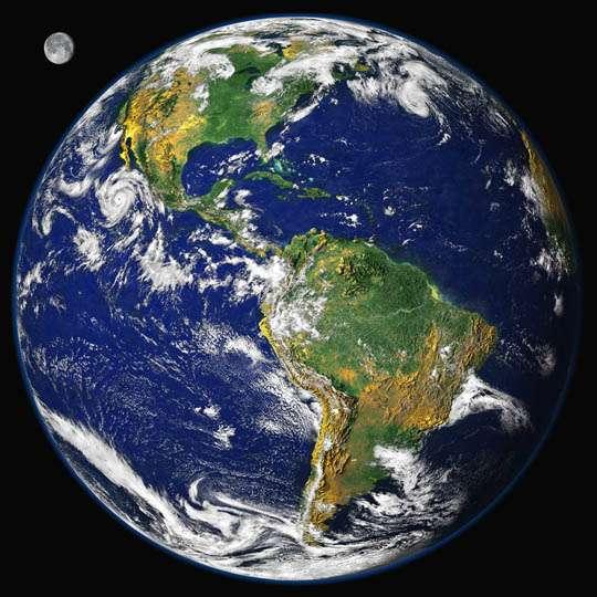 Des épisodes volcaniques peuvent également affecter la vitesse de rotation de la Terre. © Nasa