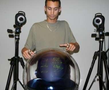 Une méthode de navigation permettant une interaction gestuelle complexe avec une interface 3D