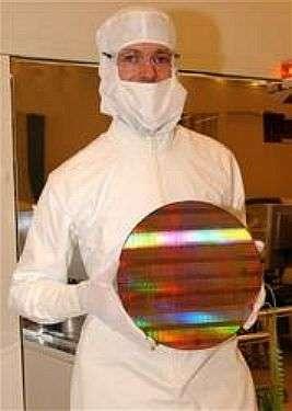 Technologie de gravure en 45 nm chez Intel. Crédit Intel.