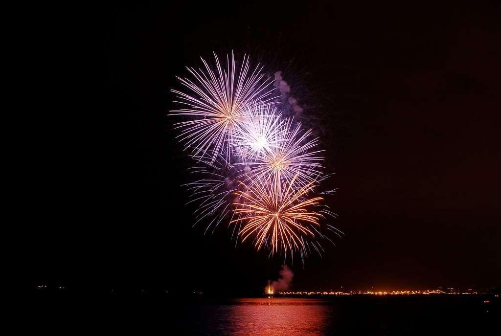 Mercredi 24 août, l'Italie clôt le Festival d'art pyrotechnique de Cannes, vous pouvez suivre ces feux en direct ! © Festival d'art pyrotechnique de Cannes
