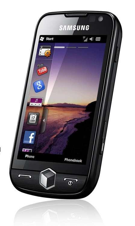 L'un des premiers Windows Phone du marché français, le Samsung Omnia II. © Samsung