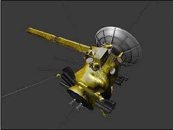 Parmi les 22 fichiers d'impression 3D que la Nasa propose figure une reproduction de la sonde spatiale Cassini dont la mission, depuis 2004, est l'étude de Saturne et de ses mondes. © Nasa, JPL-Caltech