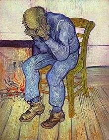 Au seuil de l'Eternité, tableau symbolisant la dépression, réalisé par Vincent Van Gogh, lui-même atteint de cette maladie. Crédits DR