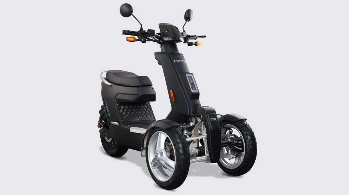 L'Orcal V28 cible la clientèle adolescente, mais il peut très bien convenir à toute personne cherchent un moyen de transport plus sécurisant que le deux-roues et moins encombrant qu'une voiture. © Orcal