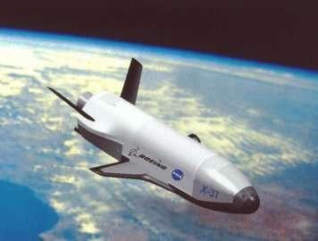 Le X-37 en orbite.Crédit : NASA/BOEING