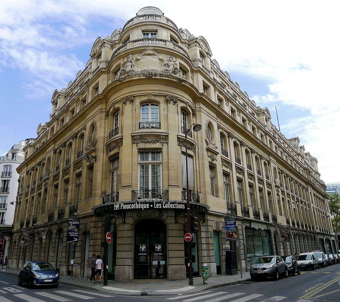 La pinacothèque de Paris offre plus de 5.000 m2 carrés d'espace d'exposition. © Mbzt, Wikimedia Commons, cc by 3.0