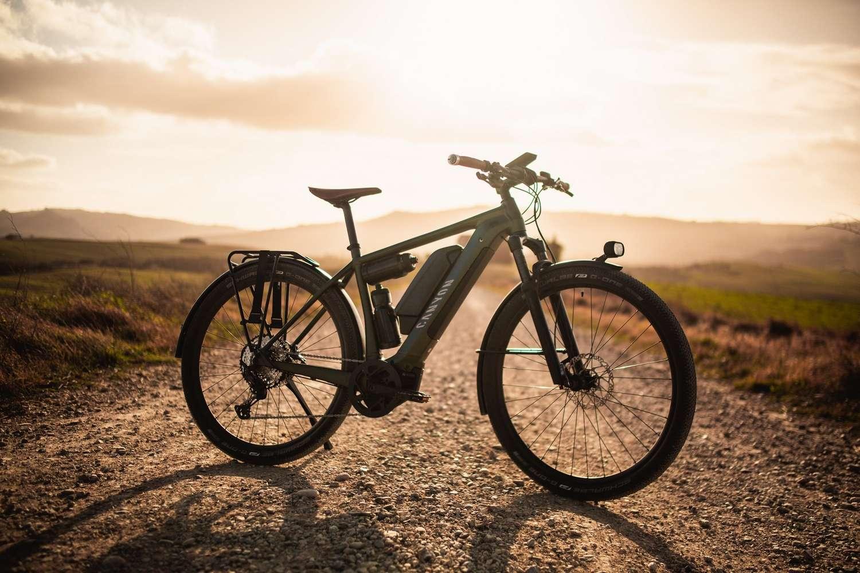 Le Canyon Pathlite:ON peut associer deux batteries Bosch pour totaliser 1000 Wh et jusqu'à 200 km d'autonomie. © Canyon