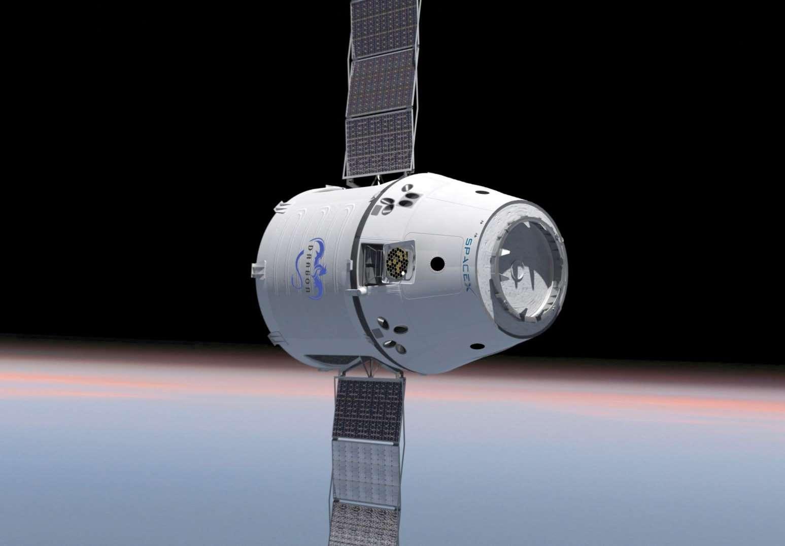 Si le deuxième vol de qualification de Dragon réussit, SpaceX pourrait commencer son activité opérationnelle la mission suivante auprès de la Nasa qui lui a déjà commandé 12 vols de ravitaillement de l'ISS pour un total de 1,6 milliard de dollars. © SpaceX