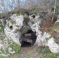 La grotte des fées de Châtelperron, au centre de la France