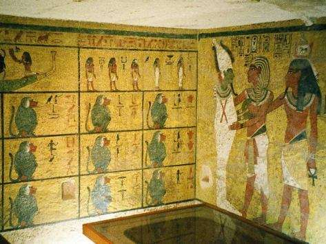 Le tombeau de Toutankhamon, KV62, l'avant-dernier à avoir été découvert dans la Vallée des Rois
