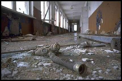 On ne sait toujours pas quel est le nombre de victimes de l'accident de Tchernobyl... © Greenpeace