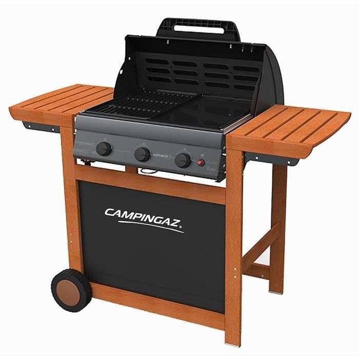 Bon plan : le barbecue à gaz Adelaide® 3 Woody L de la marque CAMPINGAZ © Cdiscount