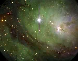 La nébuleuse du Lagon par le Southern African Large Telescope