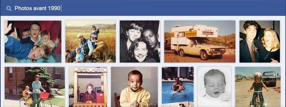 Le Graph Search permet de faire des recherches en combinant de multiples critères pour filtrer les résultats en puisant dans les interactions que les membres de Facebook créent entre eux. © Facebook