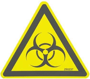 Pictogramme du risque biologique