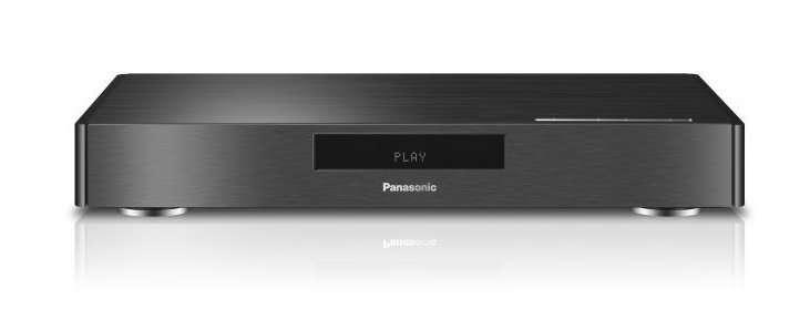 Avec son prototype de lecteur Blu-Ray Ultra HD/4K, capable de lire au format 3.840 x 2.160 pixels en 60 images par seconde, Panasonic vise le marché des téléviseurs 4K, en mal de contenu. En cours d'année, la Blu-Ray Disc Association, dont Panasonic est l'un des membres fondateurs, précisera ce standard technique. © Panasonic